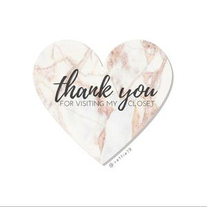 Other - THANK YOU!
